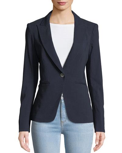 Simone Dickey One-Button Jacket
