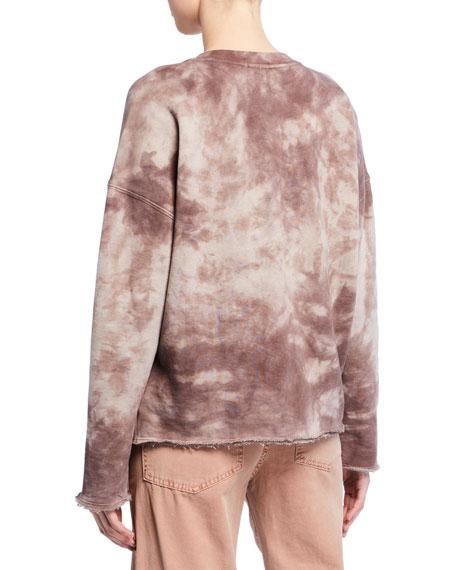 Tie-Dye French-Terry Sweatshirt