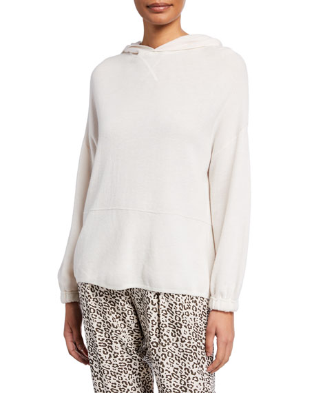 Image 1 of 1: Long-Sleeve Hooded Sweater