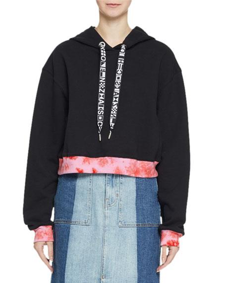 Proenza Schouler PSWL Jersey Cotton Hoodie Sweatshirt with