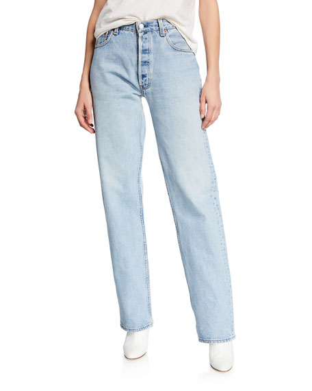 Re/done Jeans 90S STRAIGHT-LEG JEANS