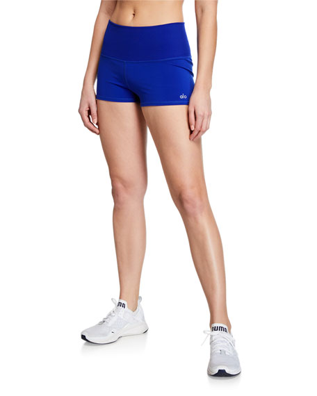 Alo Yoga Aurora Ribbed Performance Shorts