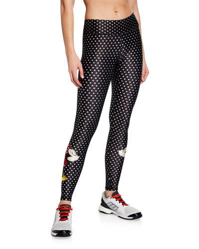 Mickey and Minnie Mouse® Tall Band Star Leggings