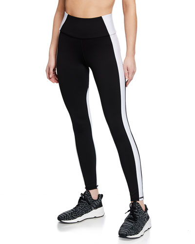 Vibe Paneled High-Waist Performance Leggings