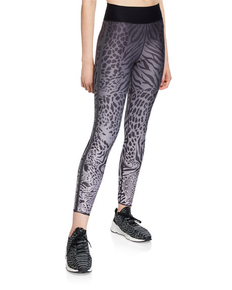 Ultracor Pants ULTRA HIGH PANTHERA PRINT PERFORMANCE LEGGINGS