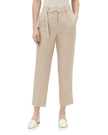 Lafayette 148 New York Dekalb Straight-Leg Cropped Nexus