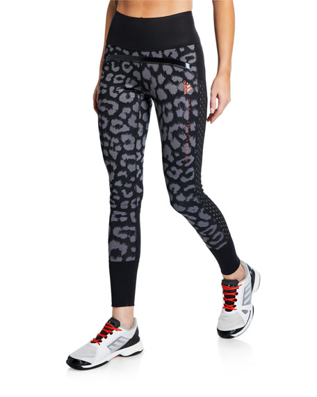 fab7c901c7ace adidas by Stella McCartney Comfort Printed Active Tights