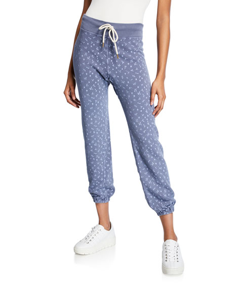 provide plenty of lace up in new arrival The Warm Up Printed Sweatpants