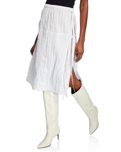 Parachute Midi Skirt