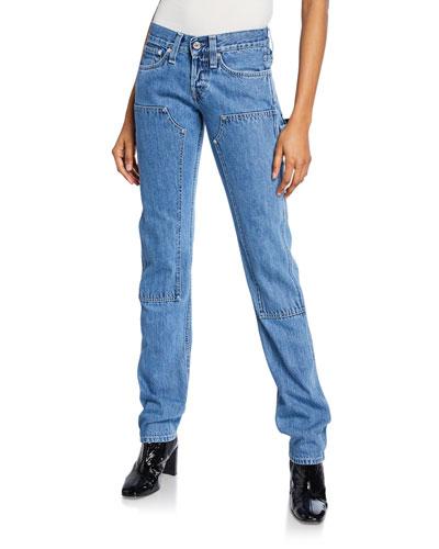 Masc Lo Utility Straight-Leg Jeans