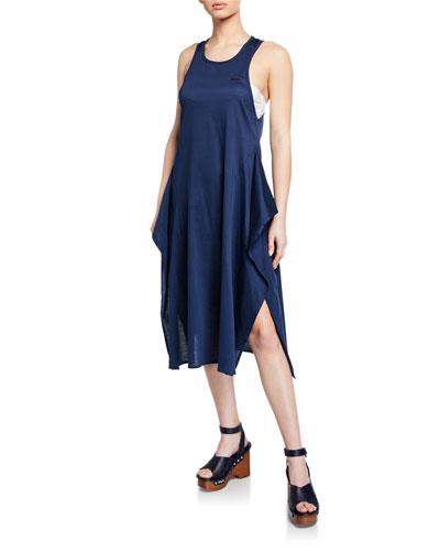 548ccbeec7503 Lacing Long Racerback Flounce Coverup Dress Quick Look. Stella McCartney