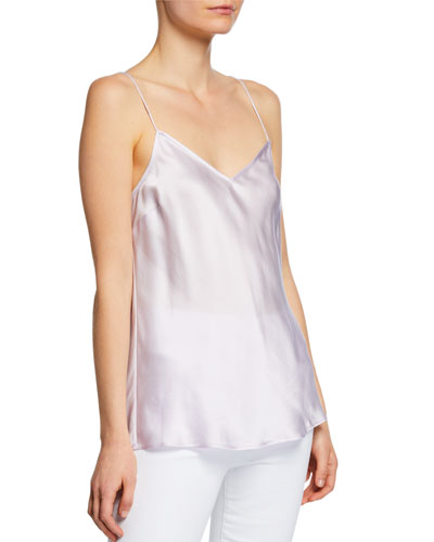 Cicely V-Back Silk Cami