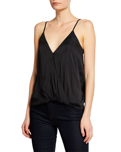 Annabelle Draped V-Neck Cami