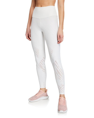 Selenite Mesh Midi Leggings