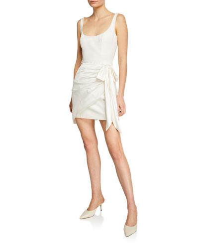 689097a8ba8fe Waverly Sleeveless Wrap Dress Quick Look. cinq a sept