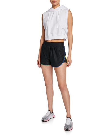 Pinhole Mesh Active Shorts
