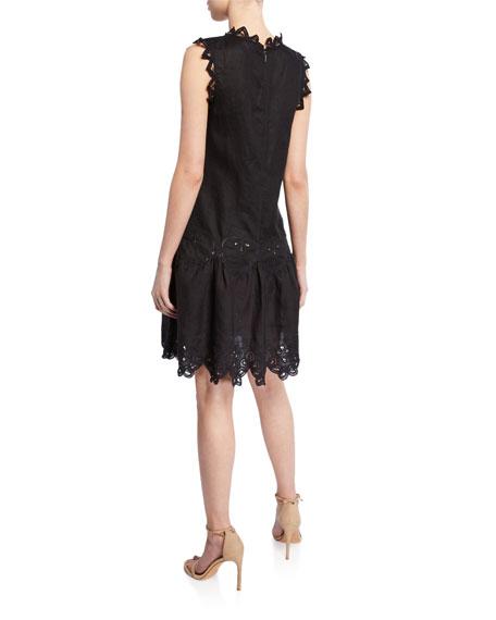 55aa2b42ecd Rebecca Taylor Terri Sleeveless Embroidered Dress. Terri Sleeveless Embroidered  Dress. Terri Sleeveless Embroidered Dress