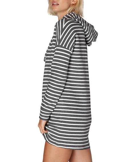 Live Out Loud Hooded Short Dress