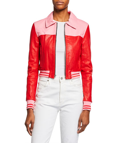 The Crewe Leather Bomber Jacket