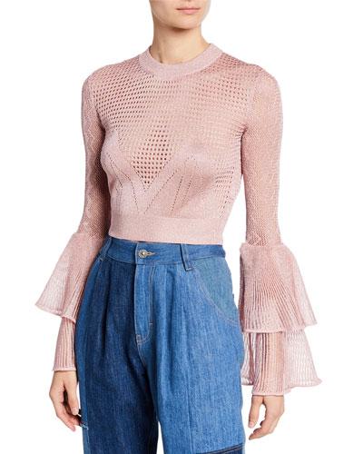 3efdc16f20ab Self-Portrait Clothing : Jumpsuits & Blouses at Bergdorf Goodman