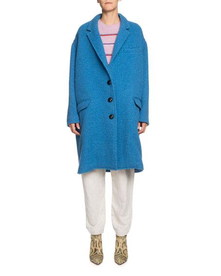 Etoile Isabel Marant Gimi Oversized Wool Coat