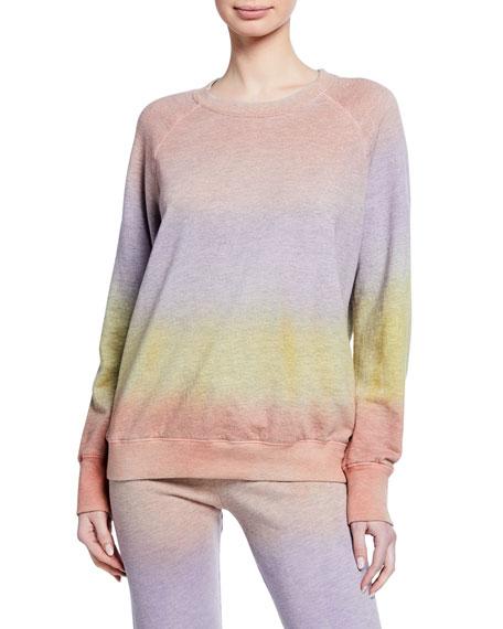 Sundry T-shirts RAGLAN PULLOVER SWEATSHIRT