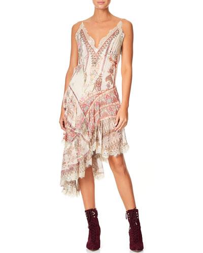 032233d39b5e Floral-Print Asymmetric-Layered Dress Quick Look. Camilla