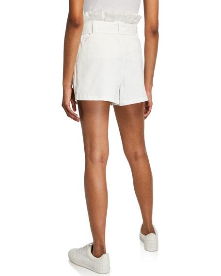 Emile Belted Paperbag Shorts