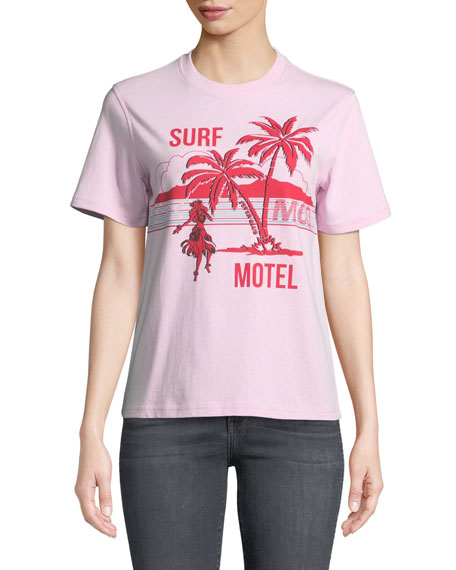 McQ Alexander McQueen Surf Motel Short Sleeve Graphic