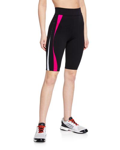 Ikena Uakoko Side-Stripe Bike Shorts