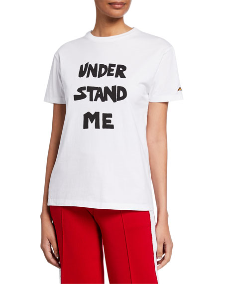 Bella Freud T-shirts UNDERSTAND ME GRAPHIC T-SHIRT