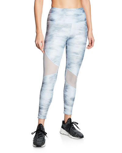 HeatGear Armour Printed Ankle Leggings