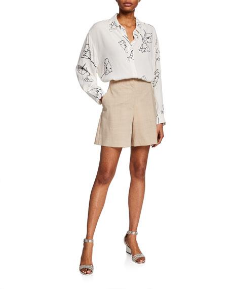 Ryerson Double-Face Wool-Blend Shorts