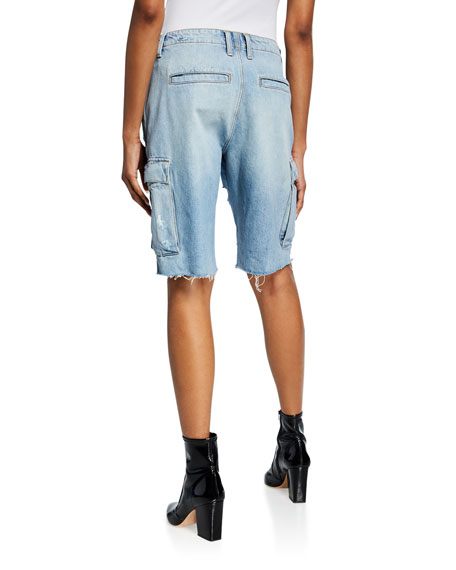 Jane Relaxed Cargo Shorts