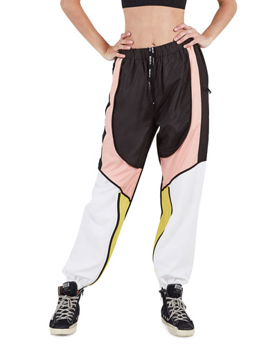 Runout Colorblock Tapered Pants