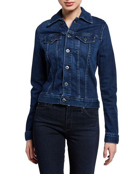 Robyn Button-Front Denim Jacket