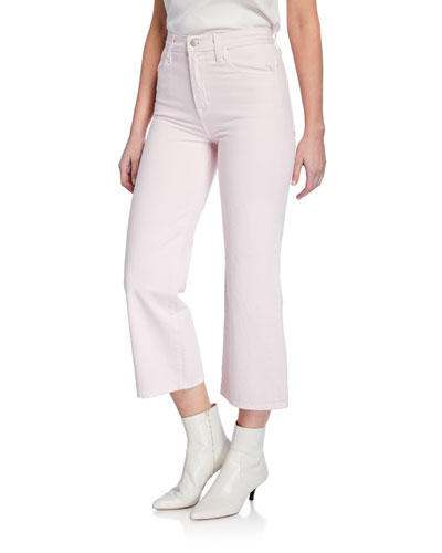 Joan High-Rise Wide-Leg Crop Jeans