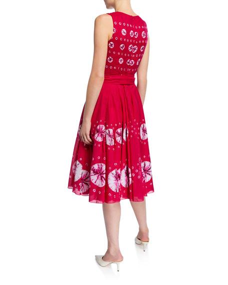 Aster Crewneck Sleeveless Dress