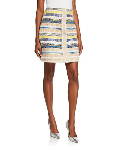 20494af7121da9 Julietta Textured Multi Skirt Quick Look. Elie Tahari