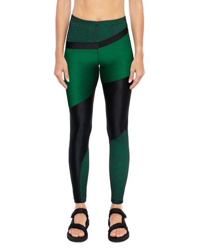 f96cf280ad248 Deuces Shantung High-Rise Leggings Quick Look. Koral Activewear