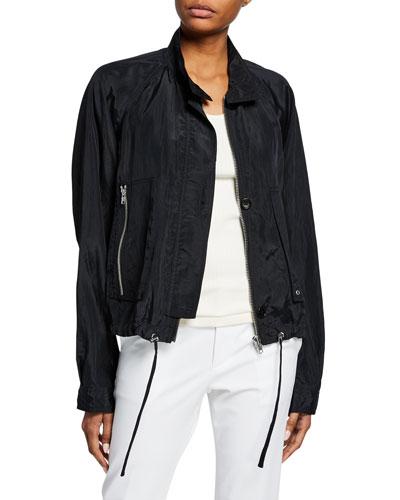 Parachute Short Trench Jacket