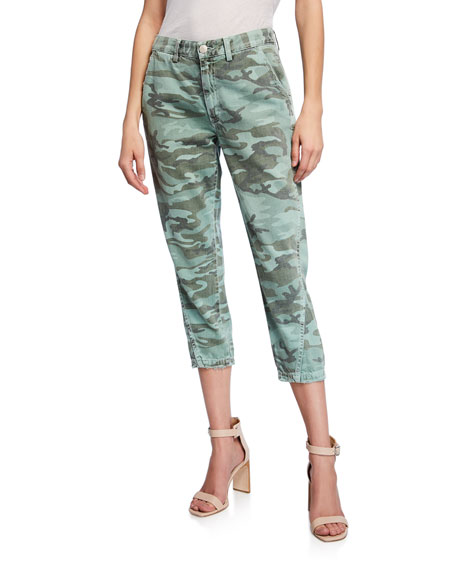 Amo Denim SLOUCHY CAMO ANKLE PANTS
