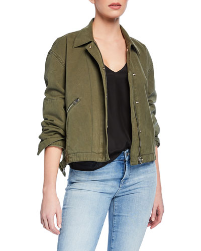 Fleet Cotton Military Jacket