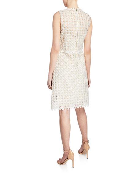 f6deba8f53353 Elie Tahari Rosaleen Woven Sleeveless Dress