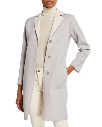 7f72881cee0 Luxury Lightweight Wool Coat Quick Look. Cinzia Rocca