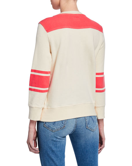 The 1/2 & 1/2 Cotton Pullover Sweater