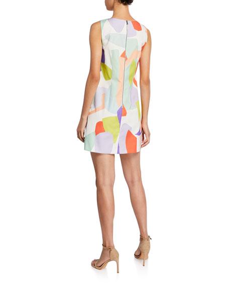 Clyde Geo-Print Shift Dress