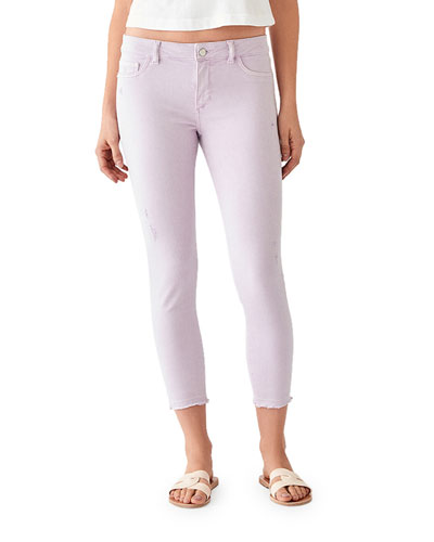 Florence Cropped Mid-Rise Skinny Jeans