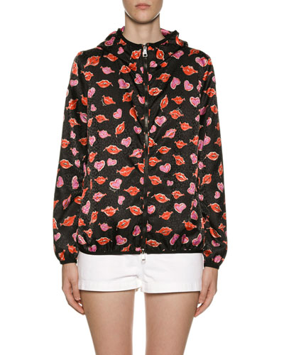 c0cbde0e6597 Vive Lip   Heart Raincoat Quick Look. Moncler
