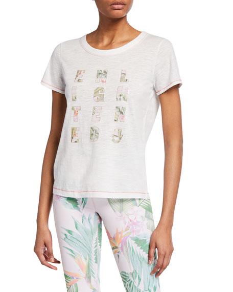 Enlightened Graphic-Print Short-Sleeve Rec Tee